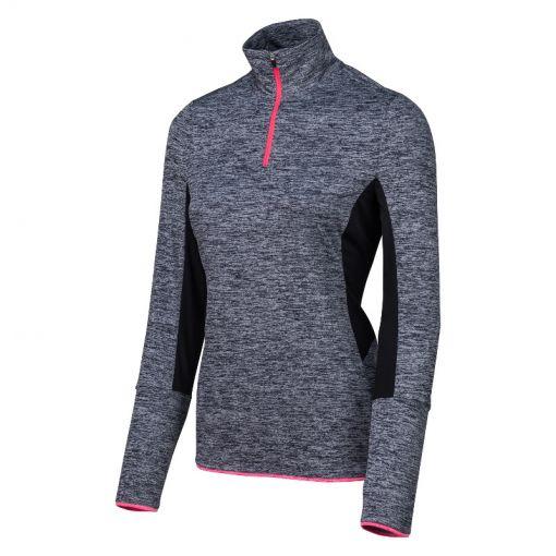 Sjeng Sports dames tennis shirt Thess - G357 volcano melange