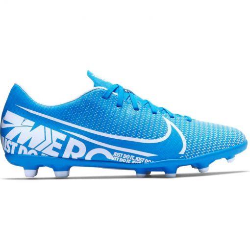 Nike voetbalschoen Vapor 13 Club FG/MG - 414 BLUE HERO/WHITE-OBSIDIAN