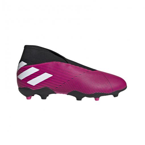 Adidas junior voetbalschoen Nemeziz 19.3 Ll FG - Shopink/Ftwhite