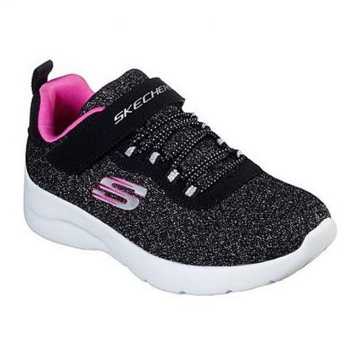 Skechers meisjes schoen Dynamight 2.0 - Zwart