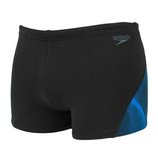 Speedo heren zwembroek End Curve Panel - C424 Bla/Blu