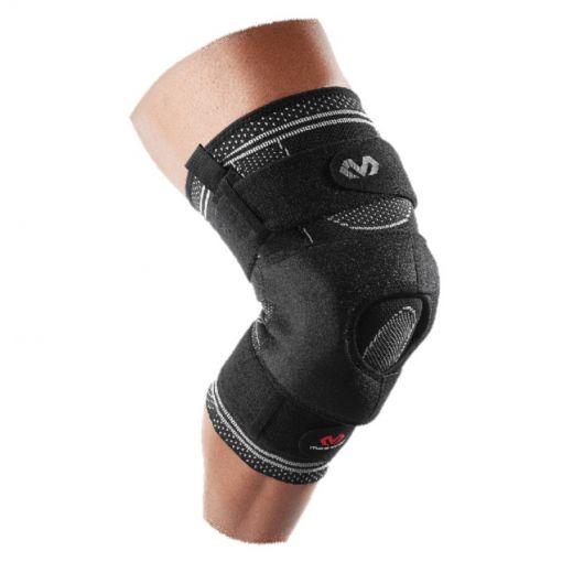 Elite Enginrd Elastic Knee Brace - Zwart
