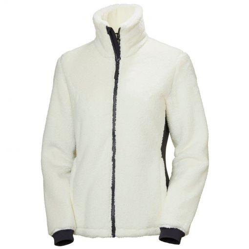W Precious Fleece Jacket - Wit
