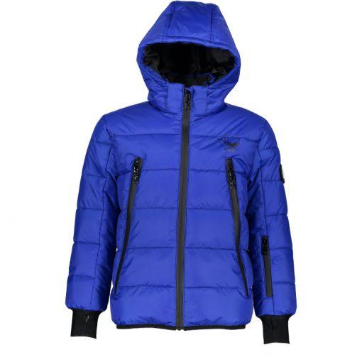SuperRebel jongens ski jas Shiny - Blauw