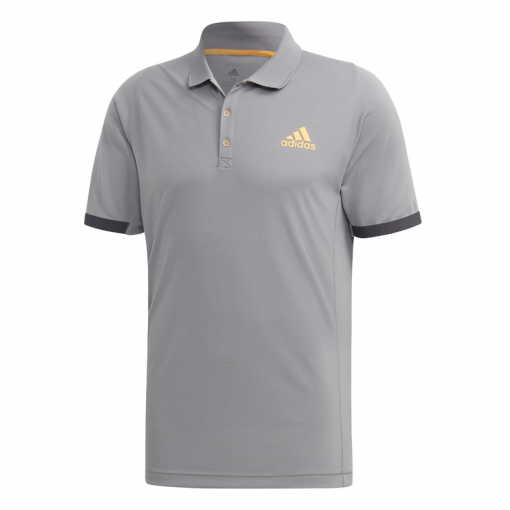 Adidas heren tennis polo Ny - Grijs