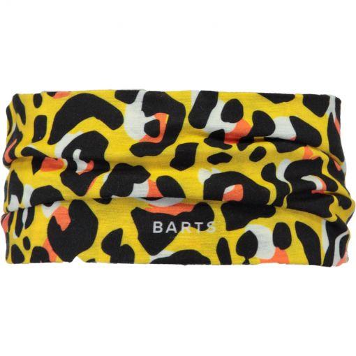 Barts haarband Multiband Leopard - geel