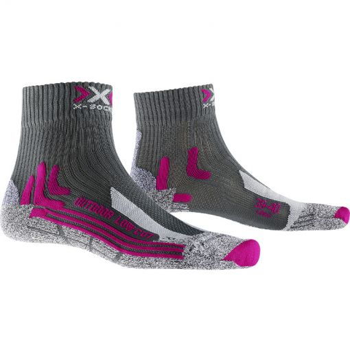 X-Socks dames sokken Trek Outdoor Low Cut Women - 84 Grey special