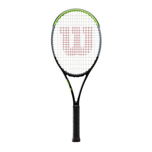 Wilson senior tennisracket Blade 101L V7.0 - Zwart