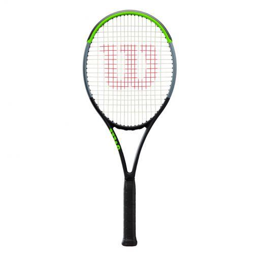 Wilson senior tennisracket Blade 100L V7.0 - Zwart