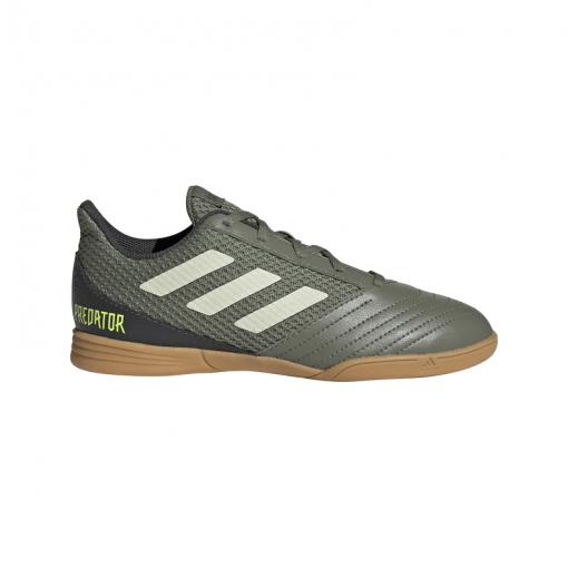 Adidas junior zaalvoetbalschoen Predator 19.4 - LEGGRN/SAND/SYELL LEGGRN/SAND/