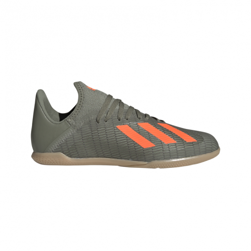 Adidas junior zaalvoetbalschoen X 19.3 IN - LEGGRN/SORANG/CWH LEGGRN/SORAN