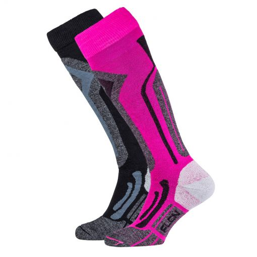 Falcon lady tecnical skisock Blunt - P063 pink glow