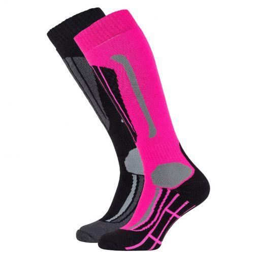Falcon lady skisock Victoria - P063 pink glow
