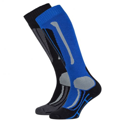 Falcon junior skisock Max jr - Blauw