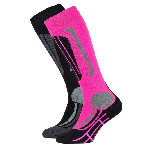 Falcon junior skisock Max jr - P063 pink glow