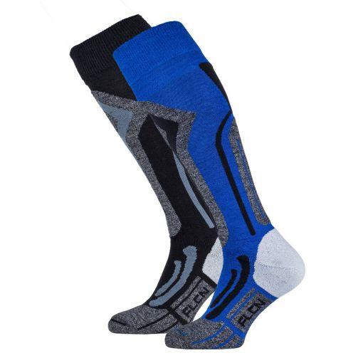 Falcon men tecnical skisock Coolly - Blauw
