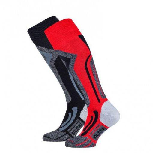 Falcon heren skisok tecnical Coolly - R011 Tango Red