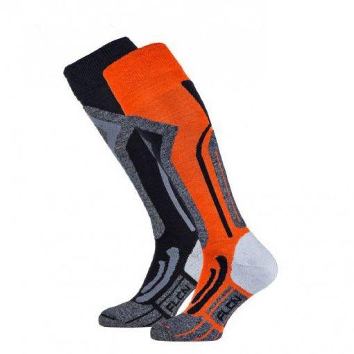 Falcon heren skisok tecnical Coolly - Oranje