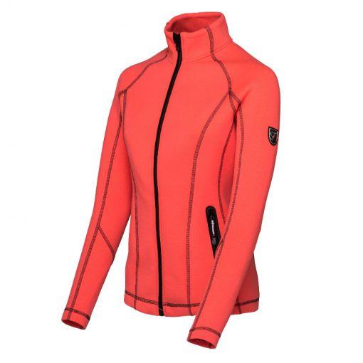 Falcon dames ski vest Ginette - O033 lightning coral melange
