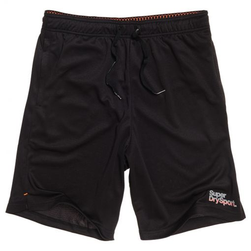 Superdry heren short Active Tricot - O2A Black