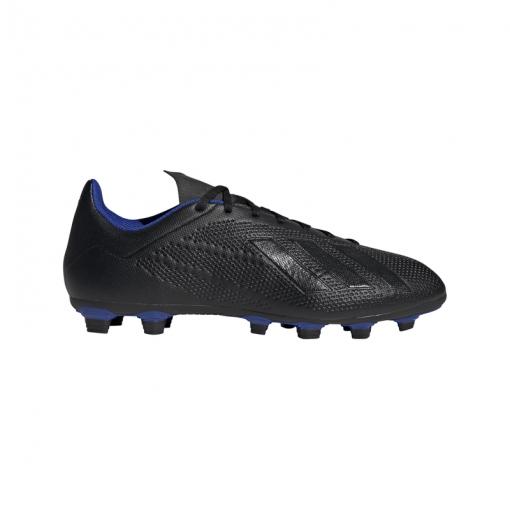 Adidas senior voetbalschoen X 18.4 FG - Zwart
