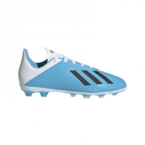 Adidas junior voetbalschoen X 19.4 FxG J - Blauw