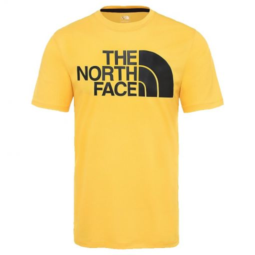 The North face heren t-shirt Flex II Big Logo S/S - LR0 Tnfylw