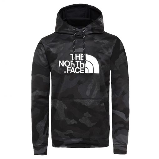 The North face heren trui M Surgent Hoodie - EU - STD BLACK-WAXED-CAMO-PRNT