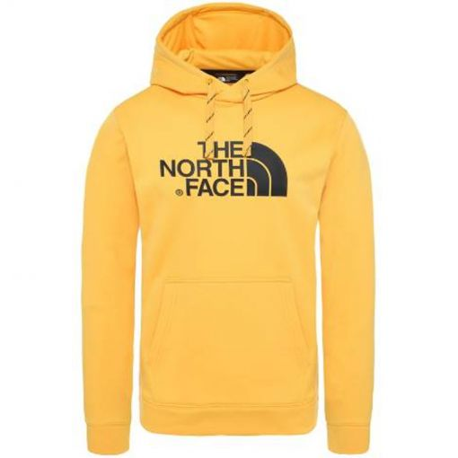 The North face heren trui M Surgent Hoodie - EU - STD YELLOW