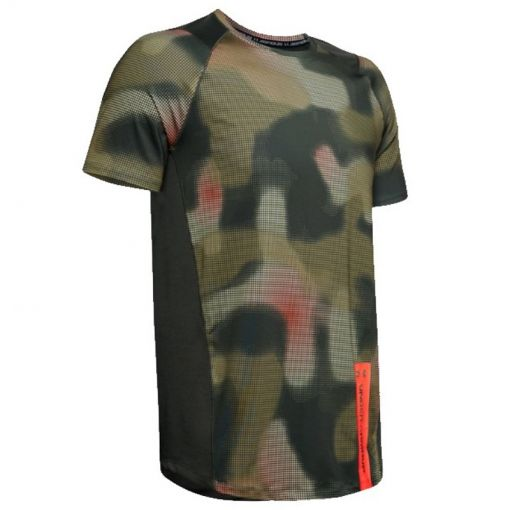 Under Armour heren t-shirt MK1 SS Printed - 310 Baroque Green