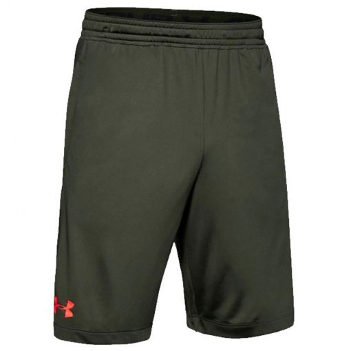 Under Armour heren short MK1 Wordmark - 310 Baroque Green