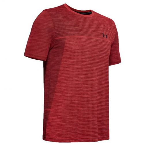 Under Armour heren t-shirt Vanish Seamless SS Nov1 - 646 Martian Red