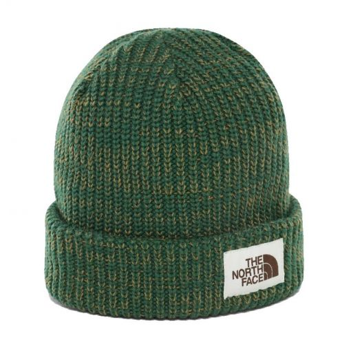 The North face muts Salty Dog Beanie - STD NIGHT-GREEN-BRITISH-KHAKI