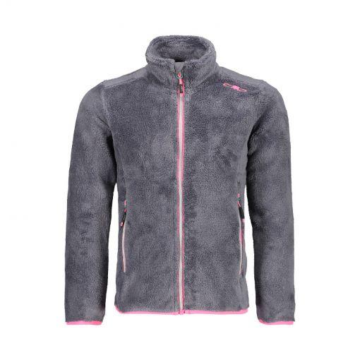 CMP meisjes pully Girl Jacket - U887 Grafite