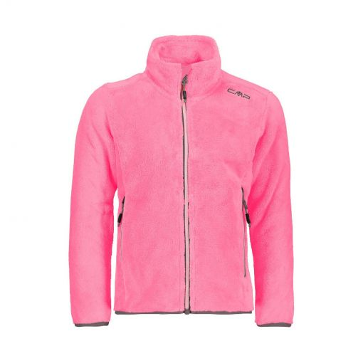 CMP meisjes pully Girl Jacket - H526 Fuxia Fluo