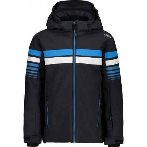 Boy Jacket Snaps Hood - U423 Antrhacite