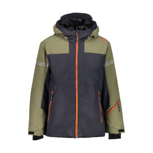 CMP jongens ski jas - U423 Antrhacite