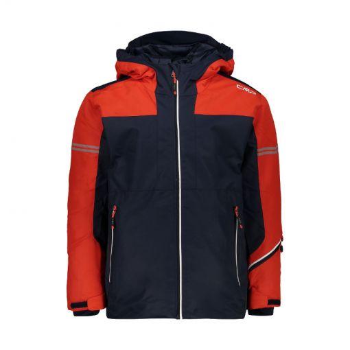 CMP jongens ski jas - N950 Blu Scuro