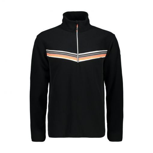 CMP heren ski pully Man Sweat - Zwart