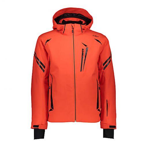 CMP heren ski jas Zip Hood - C783 Tango
