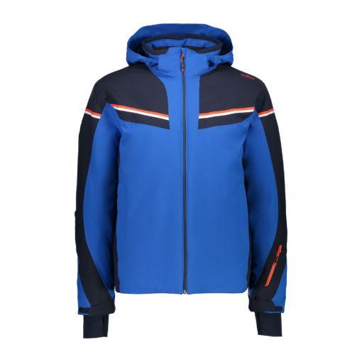 CMP heren ski jas Zip Hood - Blauw