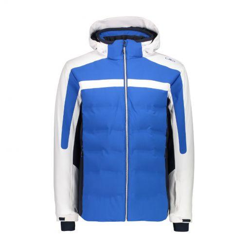 CMP heren ski jas Mid Zip Hood - Blauw