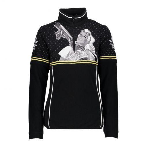 CMP dames ski pully Woman Sweat - Zwart