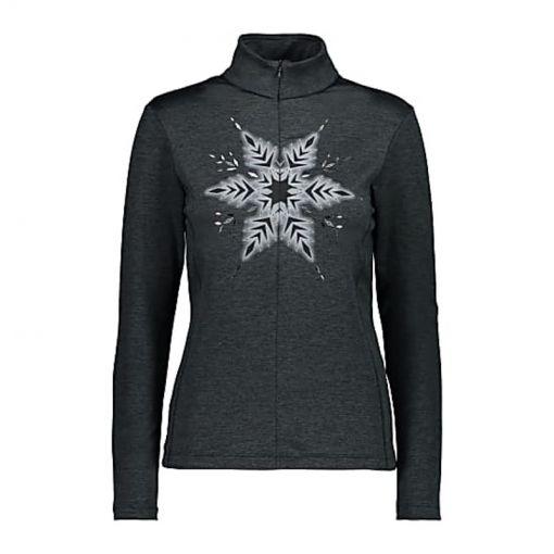 CMP dames ski pully Woman Sweat - U973 Black Melange