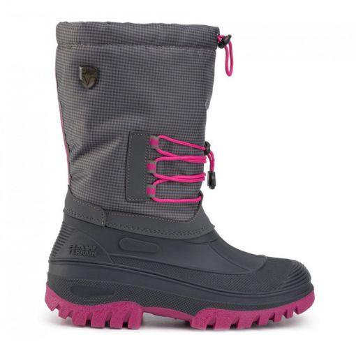 Kids Ahto Wp Snow Boots - U883 Asfalto