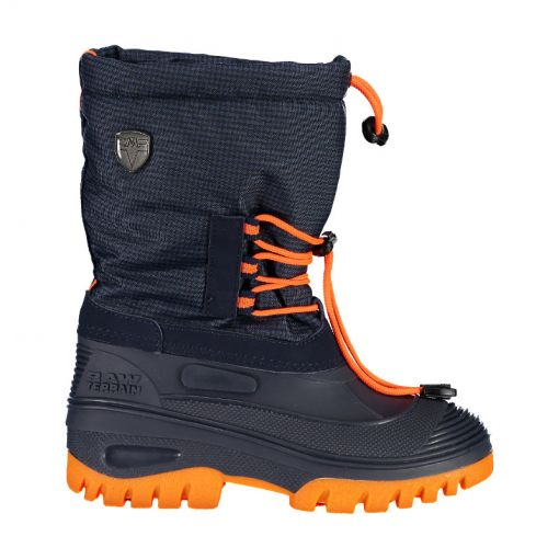 CMP junior snowboots Ahto WP - 18ND Blue/Orange