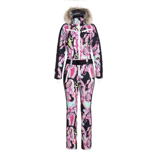 Goldbergh dames skipak Glam (Limited Edition) - Roze
