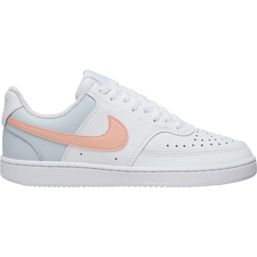 Nike dames casual schoen Court Vision Low - 103 White/Washed