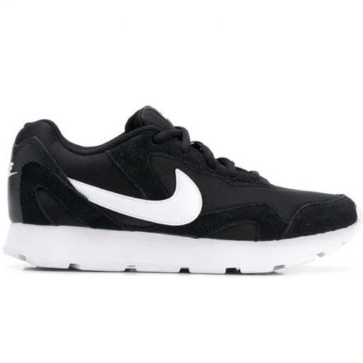 Nike dames schoen Delfine Lea - 001 BLACK/BLACK-THUNDER GREY-W