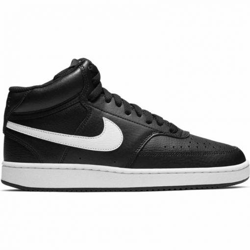 Nike dames schoen Court Vision Mid - Zwart